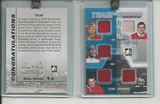 ITG TEAM SUPERLATIVE GARDIENS DE BUT /9 Roy Vachon Price Plante Hainsworth Jrsy