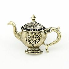 Nice Hot Vintage Style Fashion Bronze teapot kettle Finger Ring Adjustable