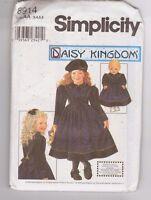 Simplicity 8914 Daisy Kingdom Child Dress and 18 Inch Doll Pattern Sz 3-6 Uncut