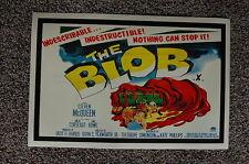 The Blob Lobby Card Movie Poster #2 Steven McQueen Aneta Corseaut Earl Rowe