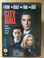City Hall DVD 1995 Political Thriller with Al Pacino and John Cusack