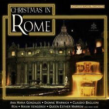 Christmas in Rome (1997, Sony) Claudio Baglioni, Die Züricher Sängerknabe.. [CD]