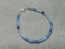 Sapphire Sterling Silver Beaded Fine Bracelets