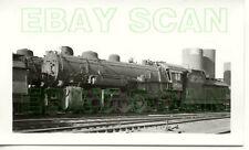 8D647 RP 1938 ROCK ISLAND RAILROAD 2-8-2 ENGINE #2528 SHAWNEE OK