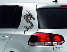 Heckscheiben Aufkleber Auto Tribal CAR STYLE Tattoo Drache Dragon Asia SET 45