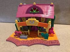 Polly Pocket Bluebird Toys 1994 Light Up Horse House Horseshoe Saloon