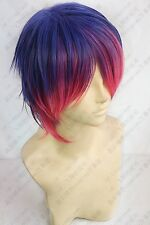 Panty & Stocking with Garterbelt Stocking Male Boy Version Short Cosplay Wig