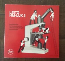 Leitz HM-LUX 3 - Special Section on the Preparation of Specimens