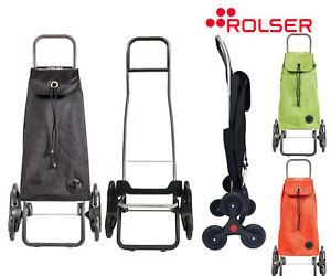 Rolser Paris MF RD6 6 Ruote Speciale Scale Colore Grigio Scuro. Carrello portaspesa