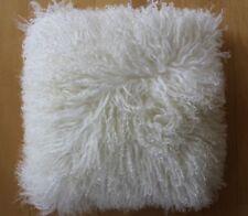 NWT UGG AUSTRALIA 100% MONGOLIAN Sheepskin Toscana Shearling SHAM PILLOW 16 X 16