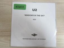 CD /  U2 – Window In The Skies    / PROMO / MUSTER / RAR /
