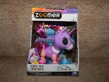 Zooner Zupps Tiny Light-Up Horn Unicorns Figure Crystal 4+ Free Shipping