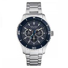 Nautica Stainless Steel Case Adult Analogue Wristwatches