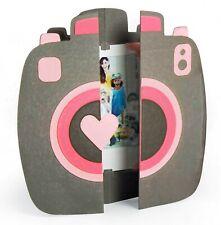 Sizzix Thinlits Retro Camera Fold-a-long Card 11pc #663588 MSRP $19.99 Jen Long