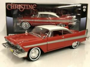 Christine 1958 Plymouth Fury - Christine (1983) 1:24 Greenlight 84071