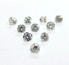 10 Stones 2mm WHITE BRILLIANT CUT ROUND POLISHED DIAMONDS