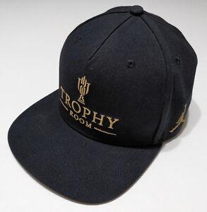NIKE AIR JORDAN Trophy Room Marcus Hat Cap Black Snapback