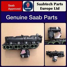 GENUINE SAAB 9-3 DTR 1.9TTiD INTAKE INLET MANIFOLD AND SWIRL - NEW -  55231588