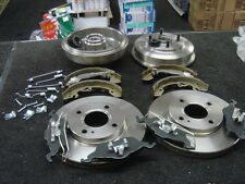 FORD FOCUS REAR BRAKE DRUMs BRAKE CYLINDERS SHOES BRAKE DISC PADS FITTING KIT