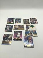 Mike Piazza - 11 Card Lot (7) Are Rookies - Dodgers HOF - Rookie RC (eleven)