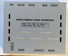 Interfaccia Retro-Camera e Video per Range Rover Discovery 4 CarSolutions 819086