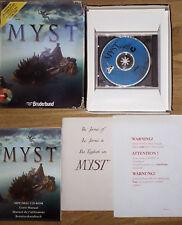 MYST Original Big Box PC Game
