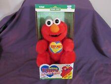 1997 Original Sesame Street Elmo Loves You Tyco Talking Plush Doll Toy