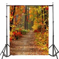 Foto Hintergrund Foto Studio Herbst Wald Entblättern 2.1x1.5m Vinyl Stoff