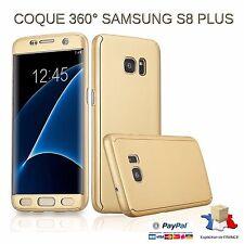Etui Coque  Protection 100 % 360 Degré Samsung Galaxy S8 Plus Doré