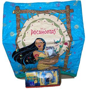 Vintage 1990's Disney's Pocahontas Play House Tent #11657 RARE Plastic
