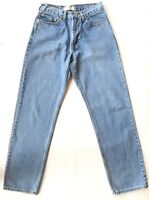Vintage Levis 550 Jeans Tag 32 x 34 Actual 30 x 33 Relaxed Fit Levi's Light Wash
