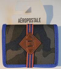 Aeropostale Bi-Fold Wallet Camo/Turbo Green - New