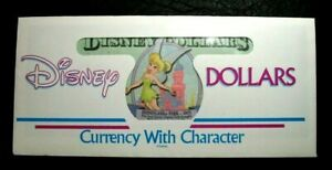 RARE 2002 $10 AA series Disney Dollars Walt Disney World Tinker Bell