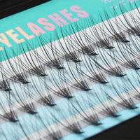 60pcs Set Fake Eyelashes Individual Cluster Long Eye Lashes Extension False Kit