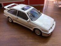 NOREV 270559 FORD SIERRA RS COSWORTH diecast model road car white 1986 1:43rd