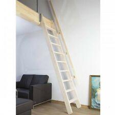 Raumspartreppe FAKRO MSP PIVOT Innentreppe Holztreppe mit Geländer | Natur