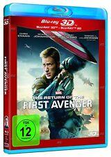 Captain America 2 - The Return of the First Avenger [3D + 2D Blu-ray/NEU/OVP]