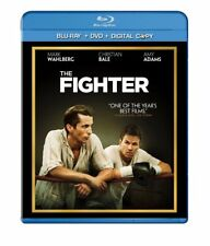 NEW THE FIGHTER BLU RAY+DVD 2 DISC MOVIE Mark Wahlberg Christian Bale TRUE STORY