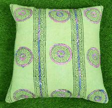 Bohemian Dari Cushion Cover Decorative Throw Cotton Embroidered Pillow Cover