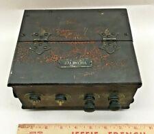Antiquevintage Hickok Electric Voltmeter Box