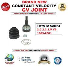 para Toyota Camry 2.0 4wd 2.2 2.5 V6 1989-2001 NUEVO Kit de junta homocinética