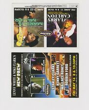 """Lenny White Mike Clark May 14 2004 Larry Carlton Promo Glossy 4"""" x 6"""" Card"""