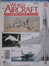 World Aircraft Information Files Issue 58 Avro Vulcan cutaway drawing & poster