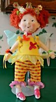 """Beautiful Madame Alexander Fancy Nancy Bonjour Butterfly 18"""" Doll with Label"""