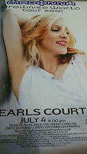 2001 Madonna World Abroad Tour Earl's Court  vintage wall poster PBX1391