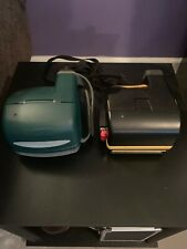 Lot of 2 Polaroid Instant Film Cameras - Job Pro 2 & One Step Express
