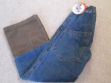 Neu DingDong Kidswear Jeans Hose Cord Blau tolle Waschung bequem 134 128