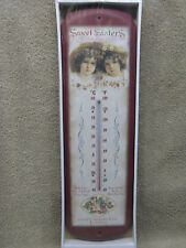 Sweet Sisters Thermometer Garden Decor New