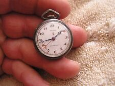 Antique Gotham 17 Jewels Women's Pocket Watch Sterling Silver