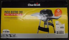 Char-Broil Electric Patio Bistro Electric Grill Black 240 (17602048) NEW SEALED